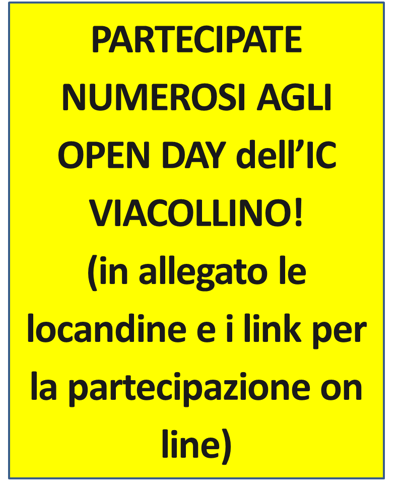 OPEN DAY IC VIACOLLINO